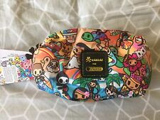 BNWT tokidoki lesportsac dolcezza sorbetto makeup cosmetic bag hawaii exclusive