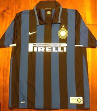 Mint Nike Inter Milan 2007/08 Home Centenary Soccer Jersey Maglia Mens Xl Italy