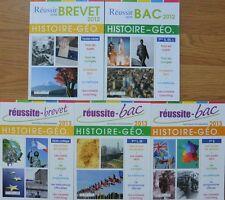 Déstockage Un livre au choix Réussite Bac Nouveaux Programmes 2013 Histoire-Géo