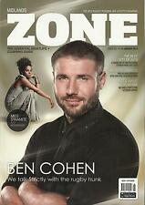 Midlands Zone Gay Magazine - January 2014 - Ben Cohen Cover and interview