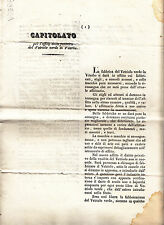N907-STATO PONTIFICIO-VITERBO-CAPITOLATO AFFITTO VETRIOLO VERDE