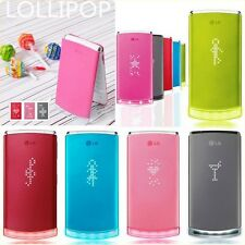 LG GD580 Lollipop Multilanguage 3MP FM LED Lighting 3G Video Flip Mobile Phone