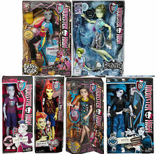 MONSTER HIGH BOY LOT PORTER SLO MO HEATH NEIGHTHAN INVISIBILLY JACKSON GHOUL