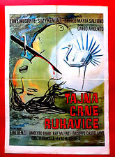 BIRD WITH CRYSTAL PLUMAGE 1970 DARIO ARGENTO MUSANTE KENDALL EXYU MOVIE POSTER