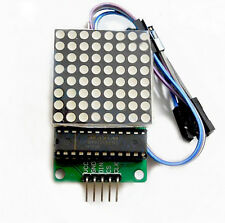 1x MAX7219 Dot led matrix module MCU control LED  Display module for Arduino