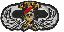 Soldier of Fortune Red Beret Army Ranger Iron On Patch Spetsnaz Red Berets