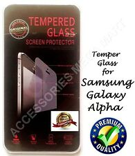 Glass Screen Protector For Samsung Galaxy Alpha Temper Explosion Proof Guard
