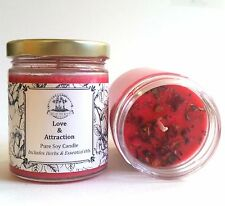 Love & Attraction Soy Candle Romance Relationship Rituals & Spells Wicca Conjure