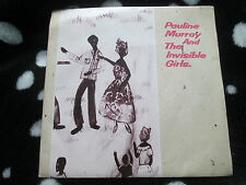 """Pauline Murray And Invisible Girls– Searching For Heaven IVE3 P/S  7"""" 45 single"""