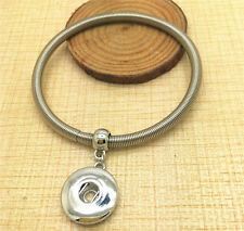 2016 HOT Spring bracelets drill fit for DIY noosa button snaps chunk  HU12