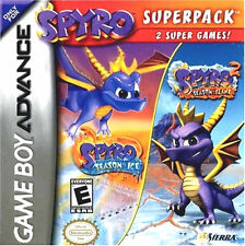 Spyro Super Pack GBA New Game Boy Advance