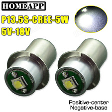 2X of PR2 PR3 6000K CREE Maglite LED Bulb 5V-18V Magnum Star Torch FLAHSLIGHT AU