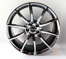 "Mustang Chrome Wheels Black Mamba Design 5x114.3 20"" Staggered Set 2005-2016"