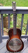 Vintage 1930s Kay Deluxe resonator guitar. Rare!