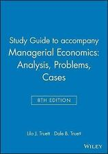 Managerial Economics : Analysis, Problems, Cases by Lila J. Truett and Dale...