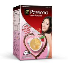Trung Nguyen Passiona G7 Instant Coffee, Sugar Free, Low Caffeine, Free Ship