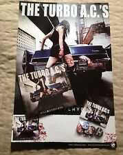 The Turbo A.C.'s - Kill Everyone (Digi-Pak) CD w/Free Poster & Pin Pack!