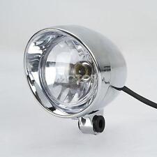 Chrome Custom Fog Light Motorcycle Spot Light Head Lamp For Harley Davidson