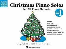 Christmas Piano Solos : Level 1 Student Piano Library (1997, Paperback)