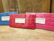 Melt Block - 100% Natural Soy Wax - Highly Scented- Choose Your Fragrance
