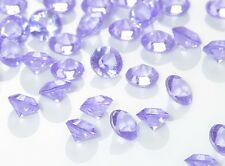 12 mm purple Wedding Table Decoration Scatter Crystals Acrylic Diamante Confetti