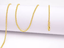 """1Pcs 26"""" Jewelry 18K Yellow GOLD Filled Pearl Cross CHAIN NECKLACEs For Pendant"""