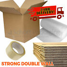 20 NEW EXTRA LARGE DOUBLE WALL Cardboard Moving Boxes - Removal Packing Storage