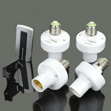 4x E27 Screw Wireless Remote Control Light Lamp Bulb Holder Cap Socket Switch