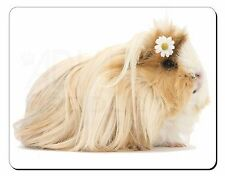 Flower in Hair Guinea Pig Computer Mouse Mat Christmas Gift Idea, GIN-5M