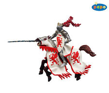 Dragon king with horse red Knight and Castles Papo 39386 + 39388