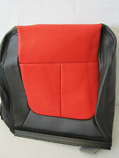 OEM Ford F150 F-150 SVT Raptor Vinyl Seat Back Cover 40 2nd Row Rear Black Red