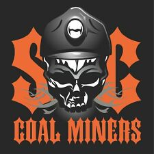 "3 – SOC Coal Miners Hard Hat Stickers ""Sons of Coal"" HH794"
