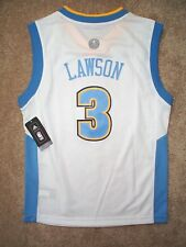 (2016-2017) Denver Nuggets TY LAWSON nba ADIDAS Jersey YOUTH KIDS BOYS (L-LARGE)