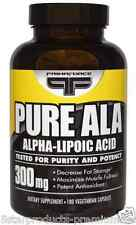NEW PRIMAFORCE PURE ALA ALPHA LIPOIC ACID DIETARY SUPPLEMENT METABOLIC HEALTHY