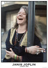 Poster JANIS JOPLIN - Laughing London 1969 ca60x85cm NEU 15322