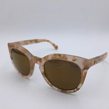 Dolce & Gabbana DG4249 Beige Marble Cats Eye Frame w/ Mirrored Yellow Lenses
