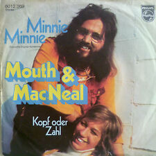 "7"" COVERVERSION SUNG GERMAN ! MOUTH & MACNEAL : Minnie"