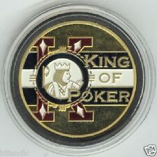 KING OF POKER poker coin Card Guard Protector Cover