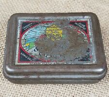 Vintage Packer's Healing pine tar soap tin container rustic