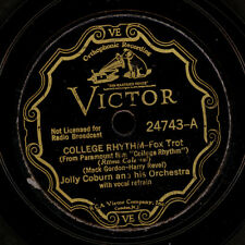 """JOLLY COBURN ORCH.  College Rhythm / Stay as sweet as...   """"Golden 20's""""   S7436"""