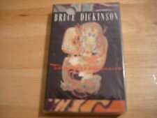 SEALED RARE PROMO Bruce Dickinson CASSETTE TAPE Tattooed Millionaire IRON MAIDEN