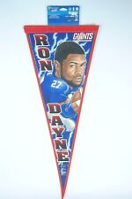 Ron Dayne New York Giants NFL Football Wincraft Pennant NOS New Old Stock
