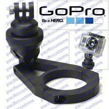 "Gopro Hero 1, 2, or 3 HD Camera Billet Aluminum Clamp On Mount 1.625"" 1 5/8 Tube"