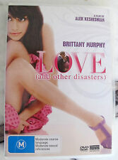 Love - And Other Disasters (DVD, 2008) Region 4 Brittany Murphy Ex-Rental