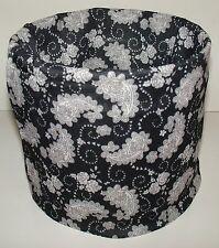 Black Floral Paisley Tubular Multi Function Headwear Scarf Balaclava Cap Beanie