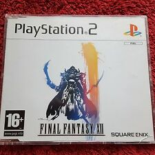 FINAL FANTASY XII (12) PROMO SONY PLAYSTATION 2 PS2 COMPLETE GAME