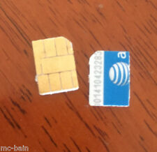 AT&T AT/T USA sim card to bypass activation lock on Iphone 3-4-5-5c-5s-6+ 6S ATT