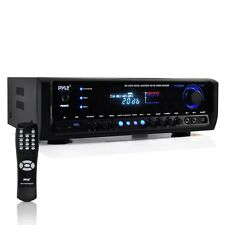 PYLE BLUETOOTH WIRELESS 4CH 300W AMP AMPLIFIER HOME THEATER RECEIVER MP3 PLAYER