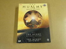 4-DISC DELUXE EDITION DVD BOX / THE MUMMY + THE MUMMY RETURNS
