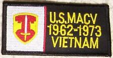 Embroidered Military Patch Vietnam Tour MAC V badge NEW